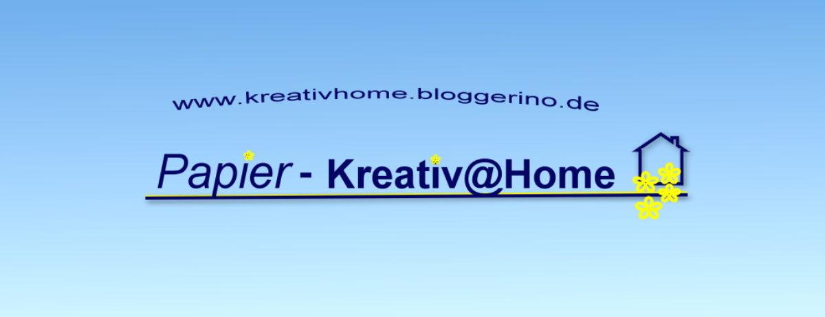 Papier-Kreativ@Home-Schönes mit Stempel, Stanze und Papier
