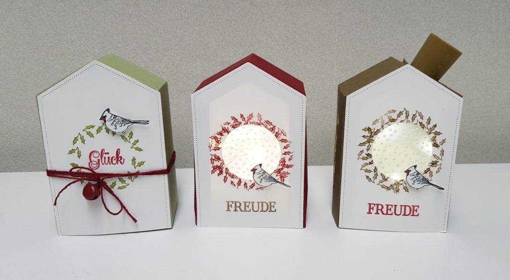 lichth uschen geschenkbox mit stampin up papier kreativ. Black Bedroom Furniture Sets. Home Design Ideas